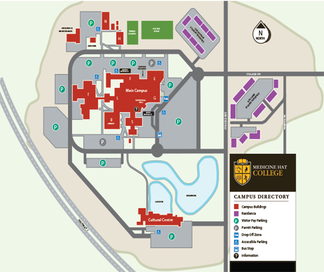 Medicine Hat Parking Map