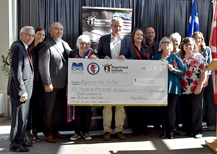 MHC receives $130,000 from Rupertsland