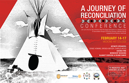 A Journey of Reconciliation Poster