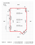 One on One Gallery Floor Plan