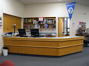 Brooks Library Information Desk