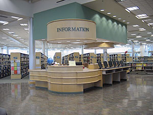 Vera Bracken Library Information Desk